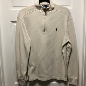 Polo Zip up Pullover